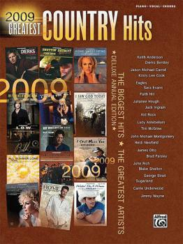 2009 Greatest Country Hits: Deluxe Annual Edition (HL-00322226)