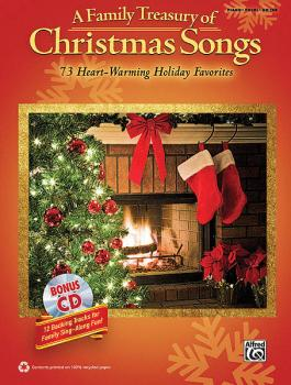 A Family Treasury of Christmas Songs: 73 Heart-Warming Holiday Favorit (HL-00322329)