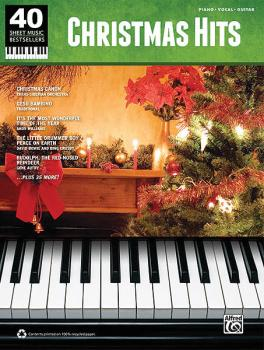 Christmas Hits: 40 Sheet Music Bestsellers Series (HL-00322422)