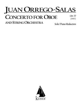 Concerto for Oboe and String Orchestra, Op. 77: Oboe with Piano Accomp (HL-00041454)