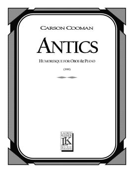 Antics: Oboe with Piano Accompaniment (HL-00041455)