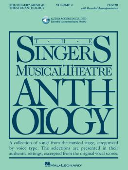 Singer's Musical Theatre Anthology - Volume 2: Tenor Book with Online  (HL-00000490)