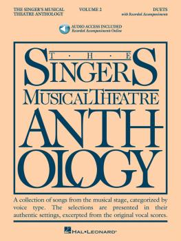 The Singer's Musical Theatre Anthology - Volume 2: Duets Book With Onl (HL-00000492)