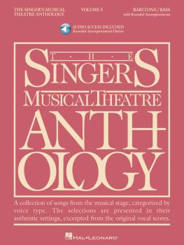 Singer's Musical Theatre Anthology - Volume 3: Baritone/Bass Book with (HL-00000496)