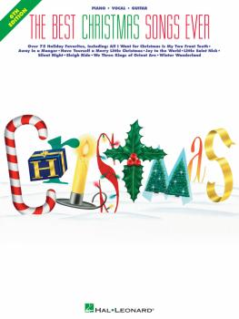 The Best Christmas Songs Ever - 6th Edition (HL-00359130)
