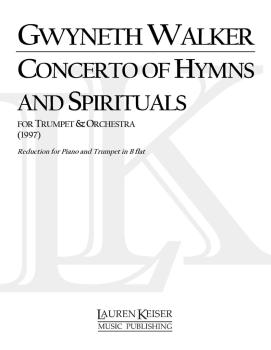 A Concerto of Hymns and Spirituals: B-flat Trumpet Part with Piano Red (HL-00041600)