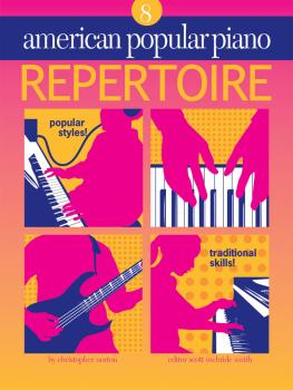 American Popular Piano - Repertoire (Repertoire Level 8) (HL-00399008)