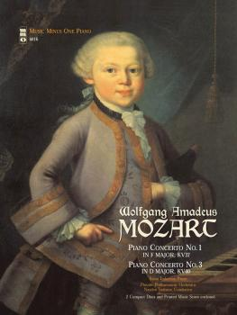 Mozart - Concerto No. 1 in F Major, KV37; Concerto No. 3 in D Major, K (HL-00400019)