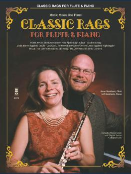 Classic Rags for Flute and Piano: Music Minus One Flute (HL-00400060)