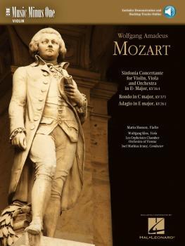 Mozart - Sinfonia Concertante in E-flat, KV364; Adagio in E; Rondo in  (HL-00400770)