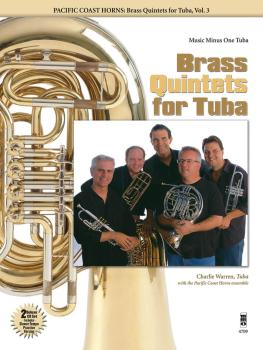 Pacific Coast Horns - Brass Quintets for Tuba, Vol. 3 (HL-00400793)