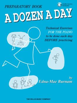 A Dozen a Day Preparatory Book - Book/Audio (HL-00406476)