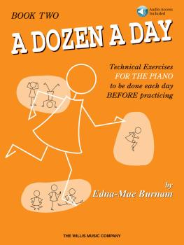 A Dozen a Day Book 2 - Book/Audio (HL-00406485)