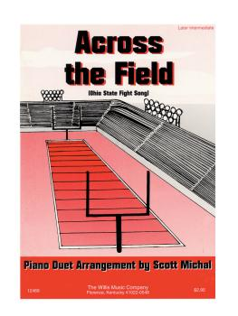 Across the Field: 1 Piano, 4 Hands/Later Intermediate Level (HL-00406617)