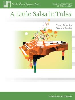 A Little Salsa in Tulsa: 1 Piano, 4 Hands/Early Intermediate Level (HL-00416529)