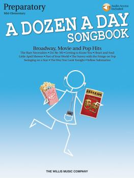 A Dozen a Day Songbook - Preparatory Book (Mid-Elementary Level) (HL-00416862)
