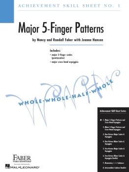 Achievement Skill Sheet No. 1: Major 5-Finger Patterns (HL-00420022)