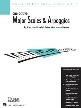 Achievement Skill Sheet No. 3: One-Octave Major Scales & Arpeggios (HL-00420024)