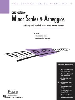 Achievement Skill Sheet No. 4: One-Octave Minor Scales & Arpeggios (HL-00420025)