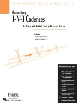 Achievement Skill Sheet No. 7: I-V-I Cadences (HL-00420028)