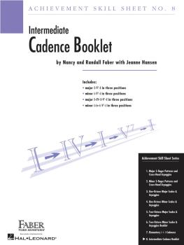 Achievement Skill Sheet No. 8: Cadence Booklet (HL-00420029)