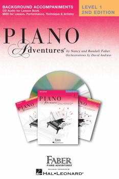Level 1 - Lesson Book CD - 2nd Edition (Piano Adventures®) (HL-00420069)