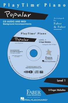 PlayTime® Popular: Level 1 Enhanced CD with MIDI Files (HL-00420074)
