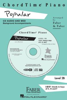 ChordTime® Popular Level 2B: CD Audio and MIDI Background Accompanimen (HL-00420080)