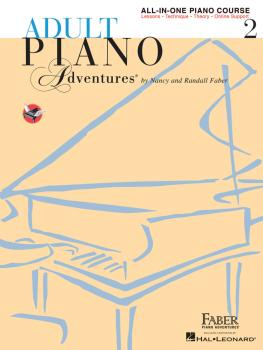 Adult Piano Adventures All-in-One Lesson Book 2 (Book/Online Audio) (HL-00420246)