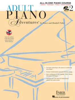 Adult Piano Adventures All-in-One Lesson Book 2: Book with CD, DVD and (HL-00420247)