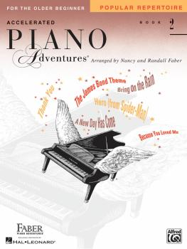 Accelerated Piano Adventures for the Older Beginner: Popular Repertoir (HL-00420254)