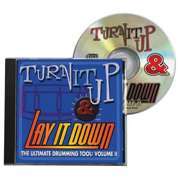 Turn It Up & Lay It Down, Vol. 2: Play-Along CD for Drummers (HL-00451091)
