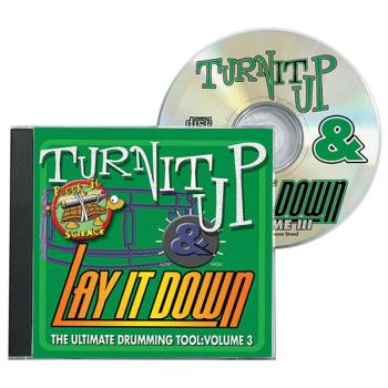 Turn It Up & Lay It Down, Vol. 3 - Rock-It Science: Play-Along CD for  (HL-00451092)