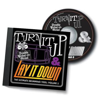Turn It Up & Lay It Down, Vol. 5 - Double Pedal Metal: Play-Along CD f (HL-00451094)
