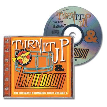 Turn It Up & Lay It Down, Vol. 6 - Messin' Wid Da Bull: Play-Along CD  (HL-00451095)