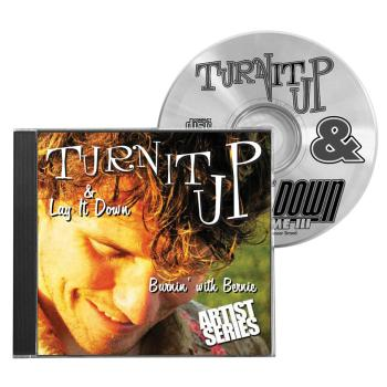 Turn It Up & Lay It Down, Vol. 9 - Burnin' with Bernie: Play-Along CD  (HL-00451098)