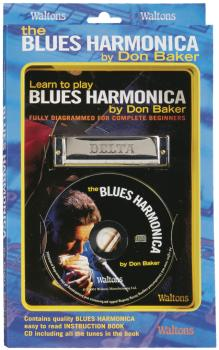 Learn to Play Blues Harmonica: Fully Diagrammed for Complete Beginners (HL-00634011)