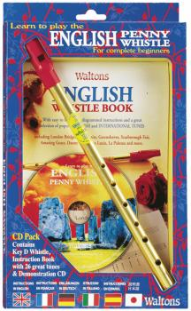 Learn to Play the English Penny Whistle for Complete Beginners: CD Pac (HL-00634104)