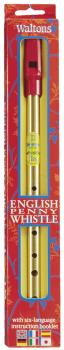 English Penny Whistle (with Six Language Instruction Booklet) (HL-00634105)