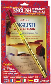 Learn to Play the English Penny Whistle for Complete Beginners: Twin P (HL-00634106)