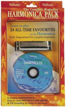 The Complete Beginners Harmonica Pack (Harmonica/Book/CD) (HL-00634108)