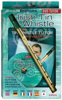 Absolute Beginners Irish Tin Whistle: DVD Pack includes D whistle, ins (HL-00634118)