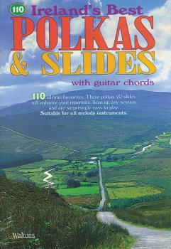 110 Ireland's Best Polkas & Slides (with Guitar Chords) (HL-00634193)