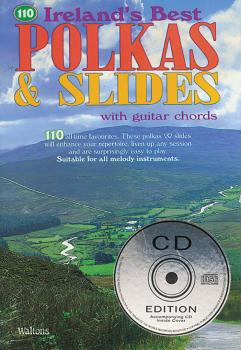 110 Ireland's Best Polkas & Slides (with Guitar Chords) (HL-00634195)