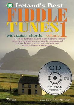 110 Ireland's Best Fiddle Tunes - Volume 1 (with Guitar Chords) (HL-00634211)