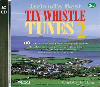 110 Ireland's Best Tin Whistle Tunes - Volume 2 (with Guitar Chords) (HL-00634218)