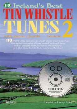 110 Ireland's Best Tin Whistle Tunes - Volume 2 (with Guitar Chords) (HL-00634223)