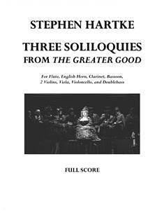 3 Soliloquies from The Greater Good (for 9 Players) (HL-00042378)