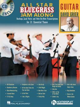 All Star Bluegrass Jam Along (for Guitar) (HL-00641943)