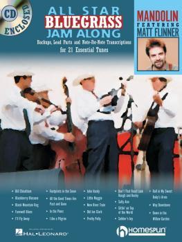 All Star Bluegrass Jam Along (For Mandolin) (HL-00641945)